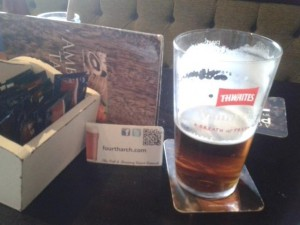Thwaites Lancaster Bomber in the Ambleside Tavern